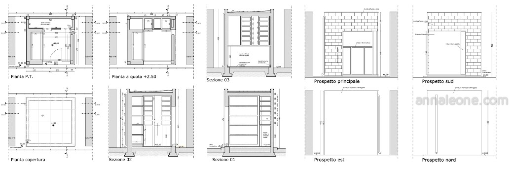 Cappella funeraria anna leone architetto - Facciamo casa mondadori ...