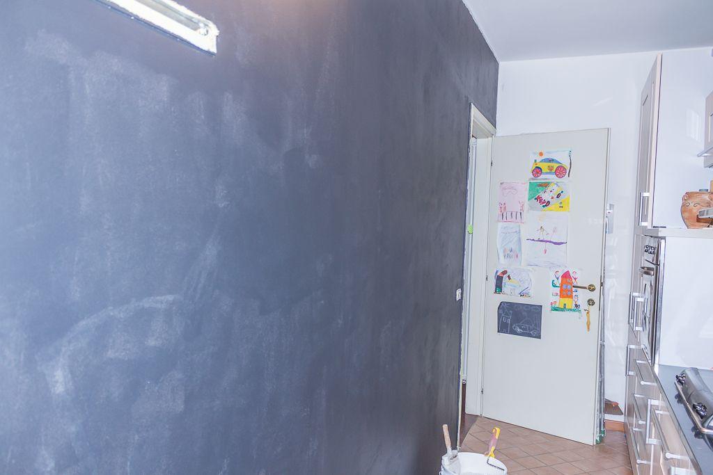 Anna leone architetto home stager - Parete lavagna cucina ...