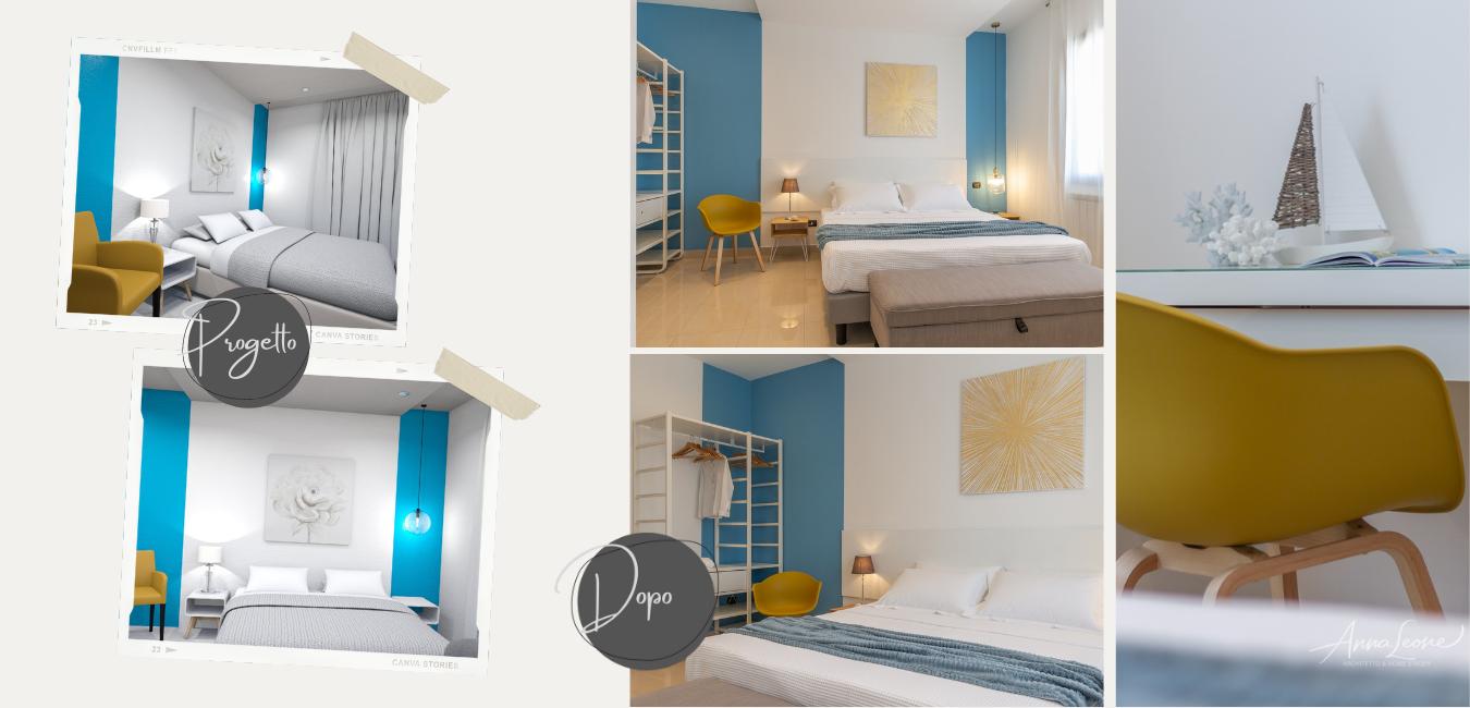 Progetto camera da letto